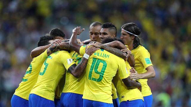 Brezilya turladı, Meksika'yla eşleşti