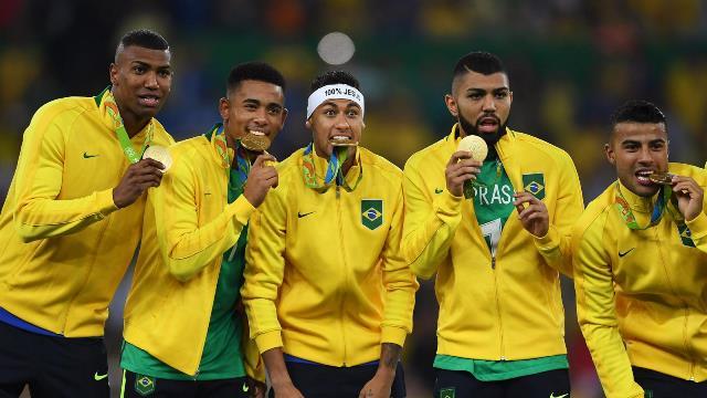 Olimpiyat şampiyonu Brezilya!