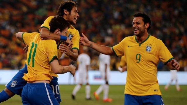 Neymar şov yaptı Brezilya farka gitti