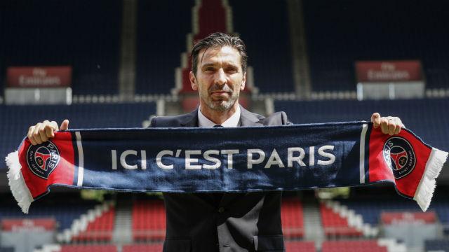 Buffon: Paris'te olmaktan dolayı çok mutluyum