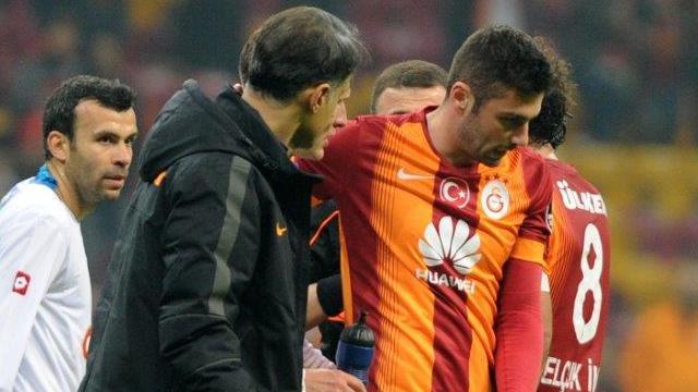 Galatasaray'dan sakatlık açıklaması