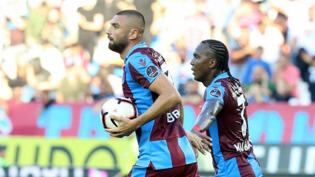 Trabzon'da fırtına tersine döndü |Bordo mavililer 2-0'dan geri geldi
