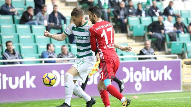 Bursaspor'dan kritik galibiyet