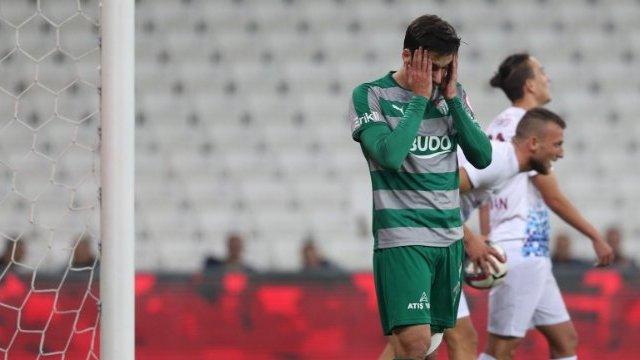 Bursaspor, 3. Lig ekibine elendi!