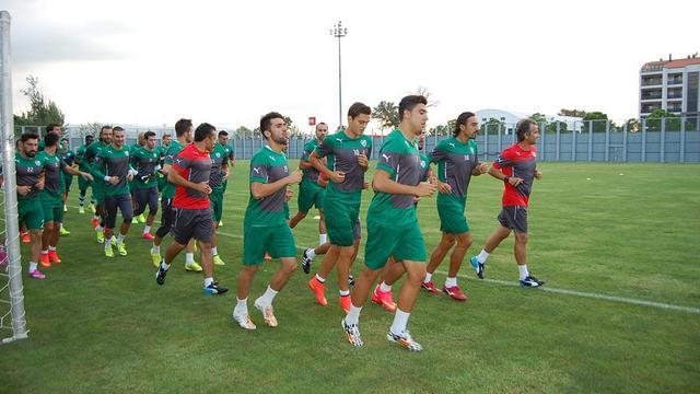 Bursaspor Beşiktaş'a hazırlanıyor
