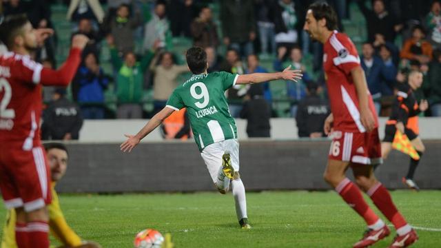 Bursaspor tek attı!