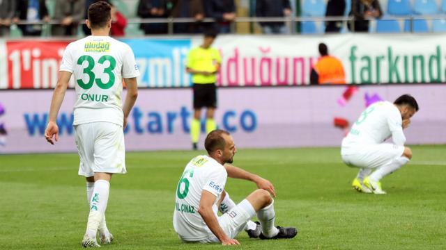 Bursaspor'un önlenemez düşüşü
