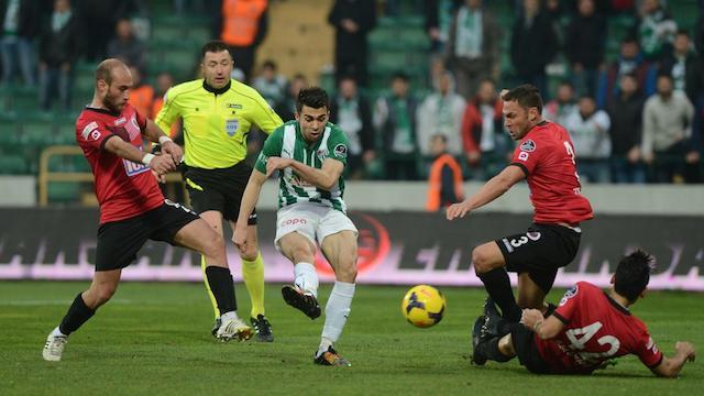 Bursaspor son dakikada kazandı