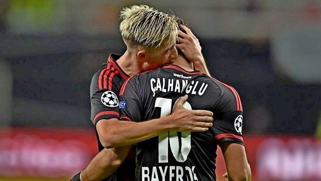 Hakan, Leverkusen'i uçurdu!