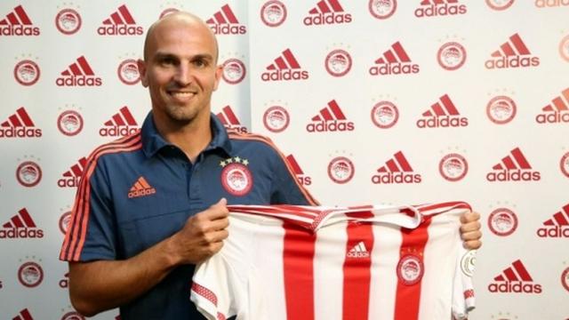Olympiakos, Cambiasso'yu transfer etti