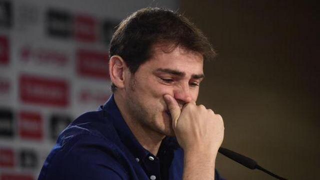 Casillas'tan duygusal veda...
