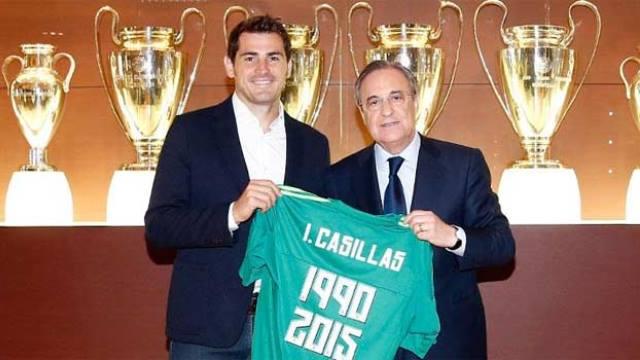 Casillas'a özel tören