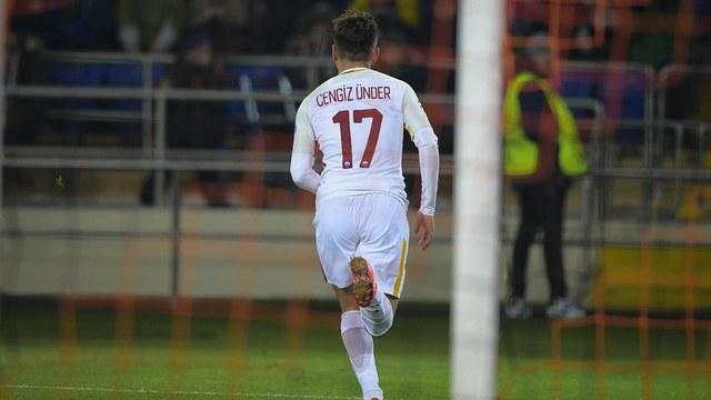 Cengiz Ünder'den tarihi gol
