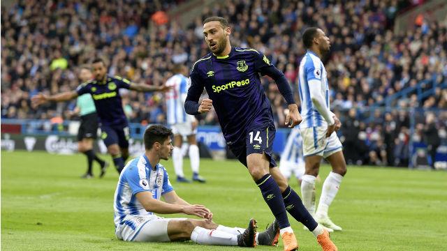Cenk perdeyi açtı, Everton kazandı
