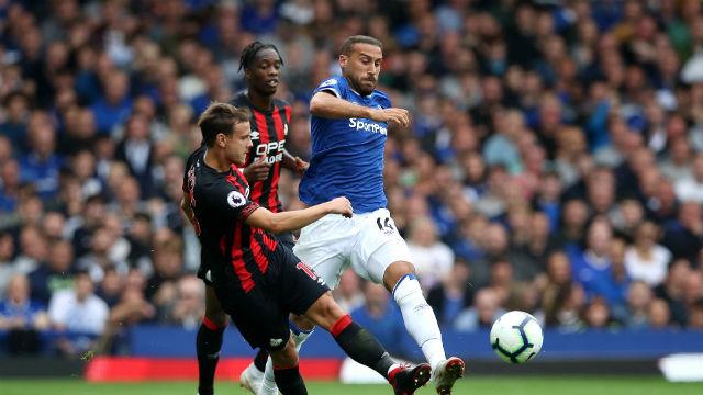 Cenk suskun kaldı, Everton puan bıraktı