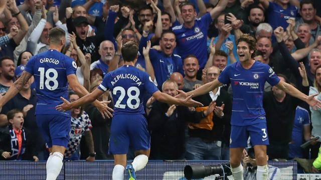Gol düellosu Chelsea'nin!