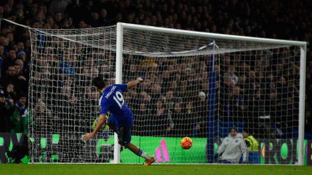 Chelsea'yi Costa kurtardı!