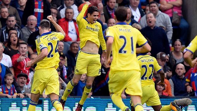 Chelsea deplasmanda güldü