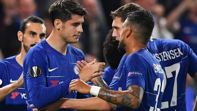 Chelsea, Morata ile güldü
