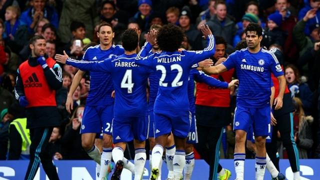 Chelsea'yi yıldızları taşıdı