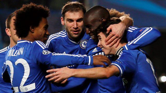Chelsea üçlük attı