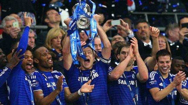 Kupa Chelsea'nin