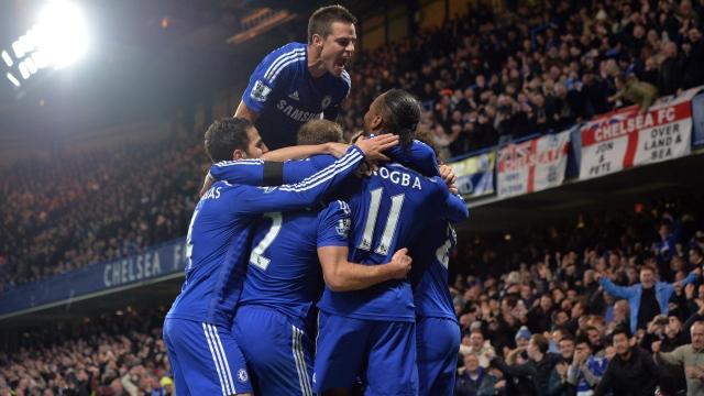 Chelsea'den tarihi galibiyet