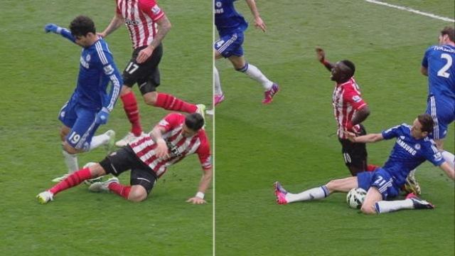 Biri penaltı diğeri değil!