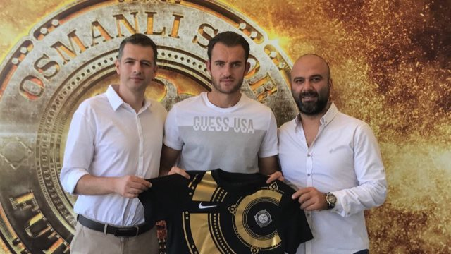 Osmanlıspor'a bir golcü daha