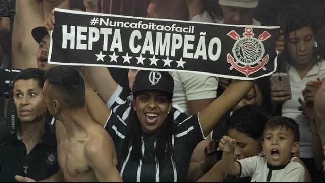 Brezilya'nın en büyüğü Corinthians