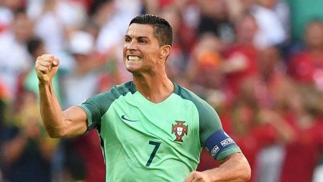 Ronaldo yakaladı!