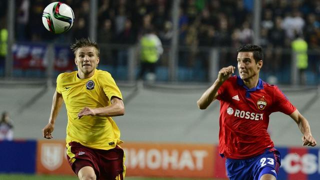 CSKA Moskova sahasında kazanamadı
