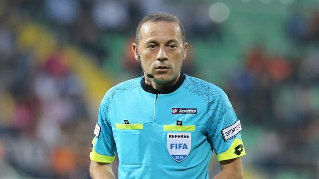 Türkiye Kupası finalinin hakemi Cüneyt Çakır