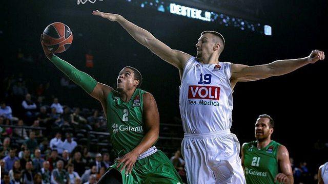 Darüşşafaka, EuroLeague'de ilk galibiyetini aldı