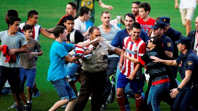 David Villa, Atletico Madrid'e veda etti