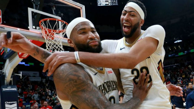 DeMarcus Cousins'tan tarihi performans