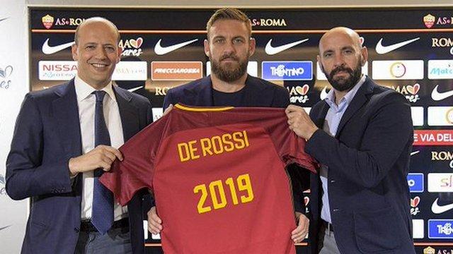 De Rossi Totti'nin izinde...