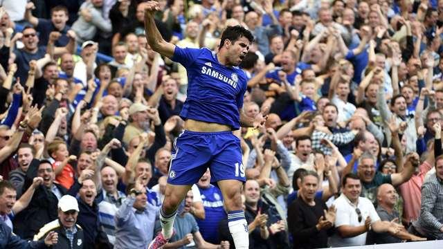 Costa başladı, Hazard bitirdi
