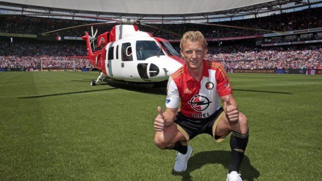 Yine helikopter, yine Kuyt
