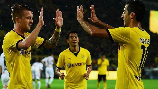Dortmund gol oldu yağdı! Tam 7 gol!