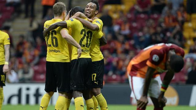 G.Saray-Dortmund maçının kareleri
