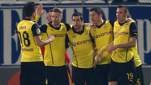 Dortmund kabustan uyandı