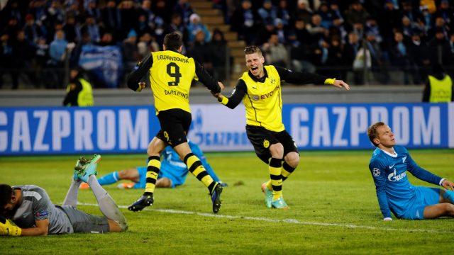Dortmund avantajını kullandı