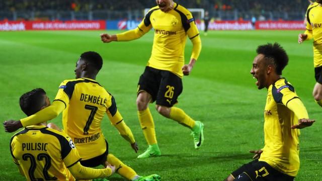 Dortmund güle oynaya çeyrek finale
