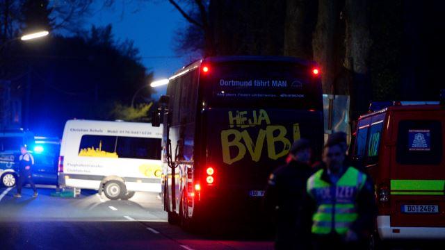 Dortmund'da patlama! Maç ertelendi...