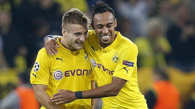 Dortmund'un şut bombardımanı