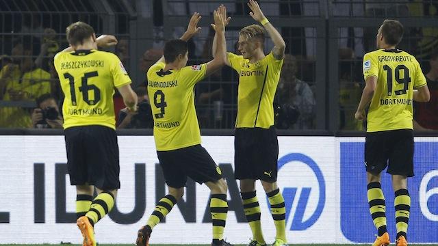 Dortmund'dan üçte üç