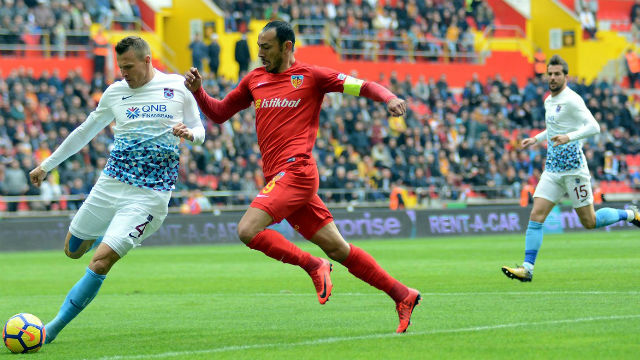 Trabzonspor Kayseri'ye takıldı