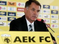 Bajevic 3. Kez AEK'nın Başında