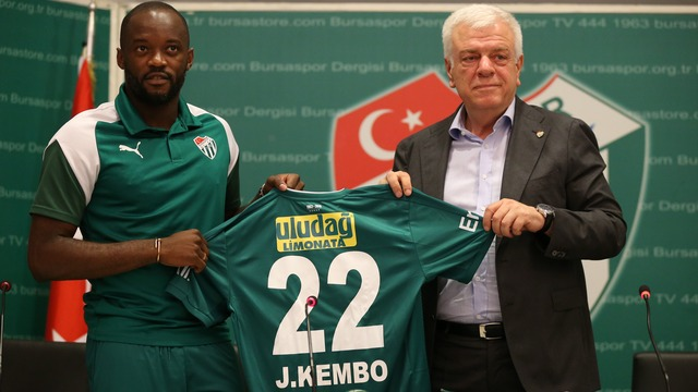 Bursaspor'a yeni yabancı!